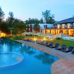 Отель Twin Lotus Resort and Spa - Adults Only бассейн фото 9