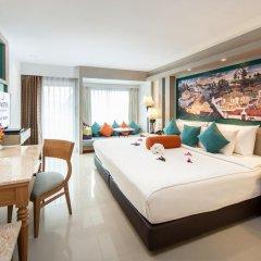 Отель Novotel Phuket Resort 4* Номер Делюкс с различными типами кроватей