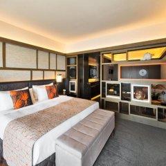 Отель Pan Pacific Singapore 5* Студия Pacific Harbour с различными типами кроватей фото 2