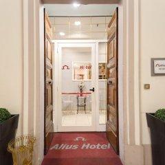 Alius Hotel интерьер отеля