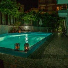 Отель 7 Palms Hotel Apartments Греция, Родос - отзывы, цены и фото номеров - забронировать отель 7 Palms Hotel Apartments онлайн бассейн фото 2