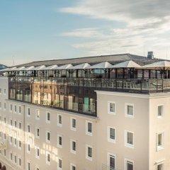 Отель IMLAUER Hotel Pitter Salzburg Австрия, Зальцбург - 7 отзывов об отеле, цены и фото номеров - забронировать отель IMLAUER Hotel Pitter Salzburg онлайн вид на фасад фото 2