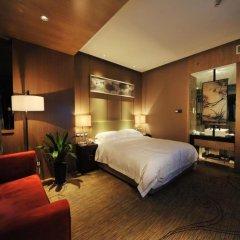 Отель Ramada Xian Bell Tower Hotel Китай, Сиань - отзывы, цены и фото номеров - забронировать отель Ramada Xian Bell Tower Hotel онлайн комната для гостей фото 2