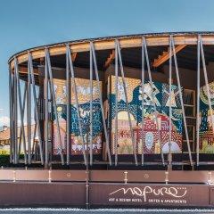 Art & Design Hotel Napura Терлано вид на фасад фото 2