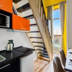 Гостиница ApartVille Улучшенный номер с различными типами кроватей фото 7