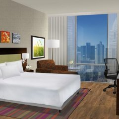 Отель Hilton Garden Inn Pittsburgh Downtown комната для гостей