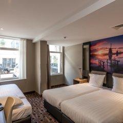Отель Inner Amsterdam 2* Стандартный номер с различными типами кроватей фото 2