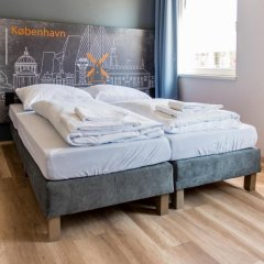 Отель a&o Copenhagen Norrebro Стандартный номер с различными типами кроватей фото 2