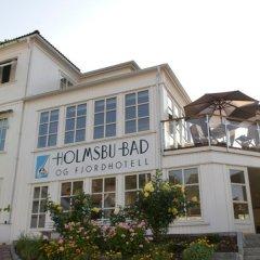Отель Holmsbu Bad og Fjordl вид на фасад фото 2