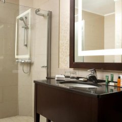 Гостиница Hilton Москва Ленинградская 5* Представительский люкс с различными типами кроватей фото 6