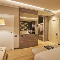 Отель IH Hotels Milano Ambasciatori 4* Номер Делюкс с различными типами кроватей фото 6