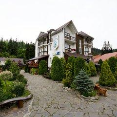Гостиница Smerekovyi Dvir вид на фасад фото 2