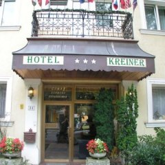 Hotel Kreiner Вена вид на фасад фото 2
