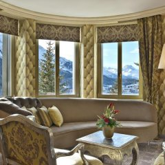 Carlton Hotel St Moritz 5* Люкс повышенной комфортности с различными типами кроватей фото 4