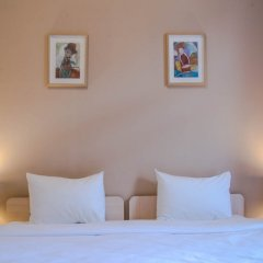 Гостиница 28 Семейный трехкомнатный номер с различными типами кроватей фото 2