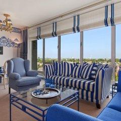 Отель Hilton Amsterdam Амстердам комната для гостей фото 6