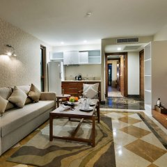 Отель Nirvana Lagoon Villas Suites & Spa 5* Люкс повышенной комфортности с различными типами кроватей фото 6
