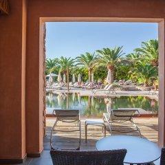 Отель Lopesan Baobab Resort 5* Стандартный семейный номер с различными типами кроватей фото 10