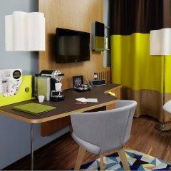25hours Hotel Zürich West 4* Номер Platinum с различными типами кроватей фото 3