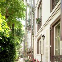 Отель Le Hameau de Passy Франция, Париж - отзывы, цены и фото номеров - забронировать отель Le Hameau de Passy онлайн вид на фасад фото 3