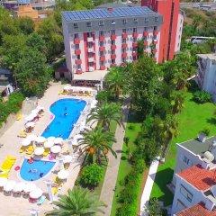 Club Aqua Plaza Турция, Окурджалар - отзывы, цены и фото номеров - забронировать отель Club Aqua Plaza онлайн бассейн