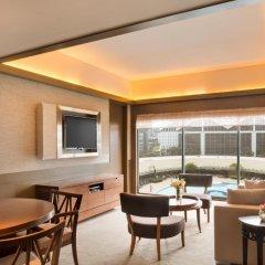 Отель Pan Pacific Singapore 5* Люкс City с различными типами кроватей
