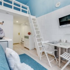 Апартаменты Sokroma Глобус Aparts Студия с двуспальной кроватью фото 13