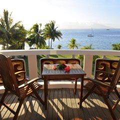 Отель InterContinental Resort Tahiti Французская Полинезия, Фааа - 1 отзыв об отеле, цены и фото номеров - забронировать отель InterContinental Resort Tahiti онлайн балкон