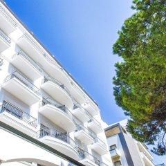 Hotel Continental Rimini вид на фасад