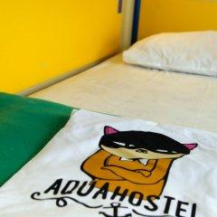 Хостел Аква Кровать в общем номере фото 10