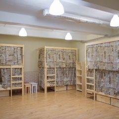 Хостел Бель Этаж Кровать в мужском общем номере с двухъярусными кроватями фото 6