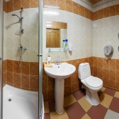 Гостиница Город на Павелецком Номер Эконом разные типы кроватей фото 5