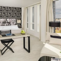 Отель H10 London Waterloo 4* Улучшенный люкс с различными типами кроватей
