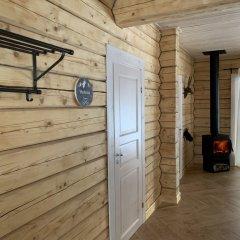 База Отдыха Forrest Lodge Karelia Улучшенный шале с разными типами кроватей фото 16