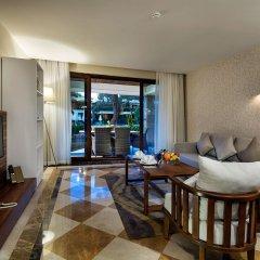 Nirvana Lagoon Villas Suites & Spa 5* Люкс повышенной комфортности с различными типами кроватей фото 3