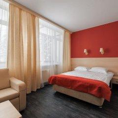 Гостиница ГЕЛИОПАРК Лесной 3* Улучшенный номер с двуспальной кроватью фото 2