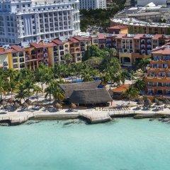 Отель Fiesta Americana Cancun Villas пляж фото 2