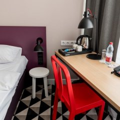 AZIMUT Отель Смоленская Москва 4* Номер SMART Superior с 2 отдельными кроватями фото 3