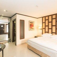Отель Radisson Blu Resort, Sharjah 5* Улучшенный номер с различными типами кроватей фото 2