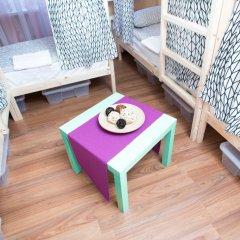 Хостел Павелецкая Площадь Кровать в общем номере с двухъярусной кроватью фото 5
