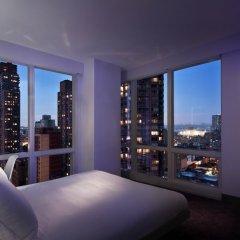 Отель Yotel New York at Times Square 3* Улучшенный номер с различными типами кроватей фото 4