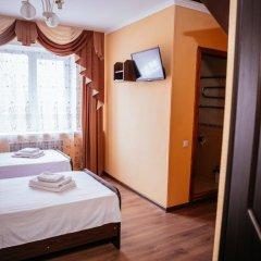 Гостиница Каштан Стандартный номер разные типы кроватей фото 17