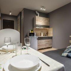 Гостиница Квартира Две Подушки на Новотушинской 4 Стандартный номер с различными типами кроватей фото 9