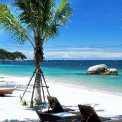 Отель Koh Tao Beach Club пляж фото 3