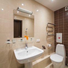 Гостиница Комплекс апартаментов Комфорт Улучшенная студия с различными типами кроватей фото 24