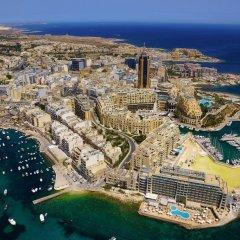Отель Spinola Bay Penthouse Мальта, Сан Джулианс - отзывы, цены и фото номеров - забронировать отель Spinola Bay Penthouse онлайн пляж
