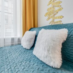 Апартаменты Sokroma Глобус Aparts Студия с двуспальной кроватью фото 12
