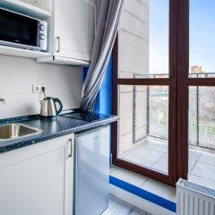 Гостиница ApartVille Стандартный номер с различными типами кроватей фото 23