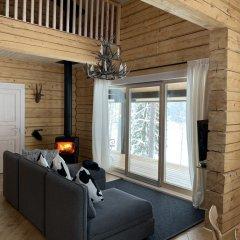 База Отдыха Forrest Lodge Karelia Улучшенный шале с разными типами кроватей фото 12
