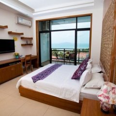 Отель Blue Summer Inns Sanya Bay комната для гостей